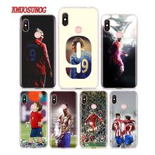 Silicone Phone Case fernando torres for Redmi 7 Y3 Y2 S2 Xiaomi Note 6 6A 5 5A Pro Plus 4 4X Cover