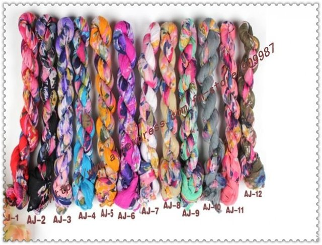 factory price.women's cotton voile half flower long popular pashmina scarves/scarf/shawls.12colors.20pcs/lot.