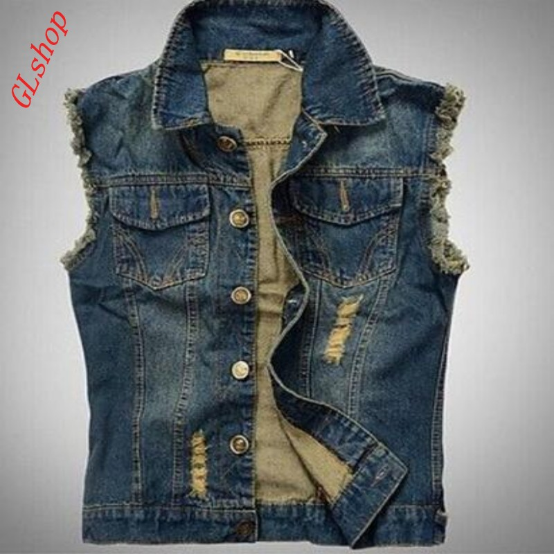 Compare Prices on Jean Jacket Vest for Men- Online Shopping/Buy ...