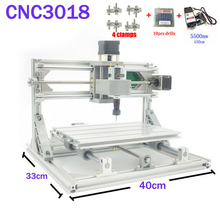 CNC 3018 ER11 GRBL Control Diy CNC Machine 3 Axis pcb Milling Machine Wood Router Laser Engraving with 450nm 5.5W Laser Module
