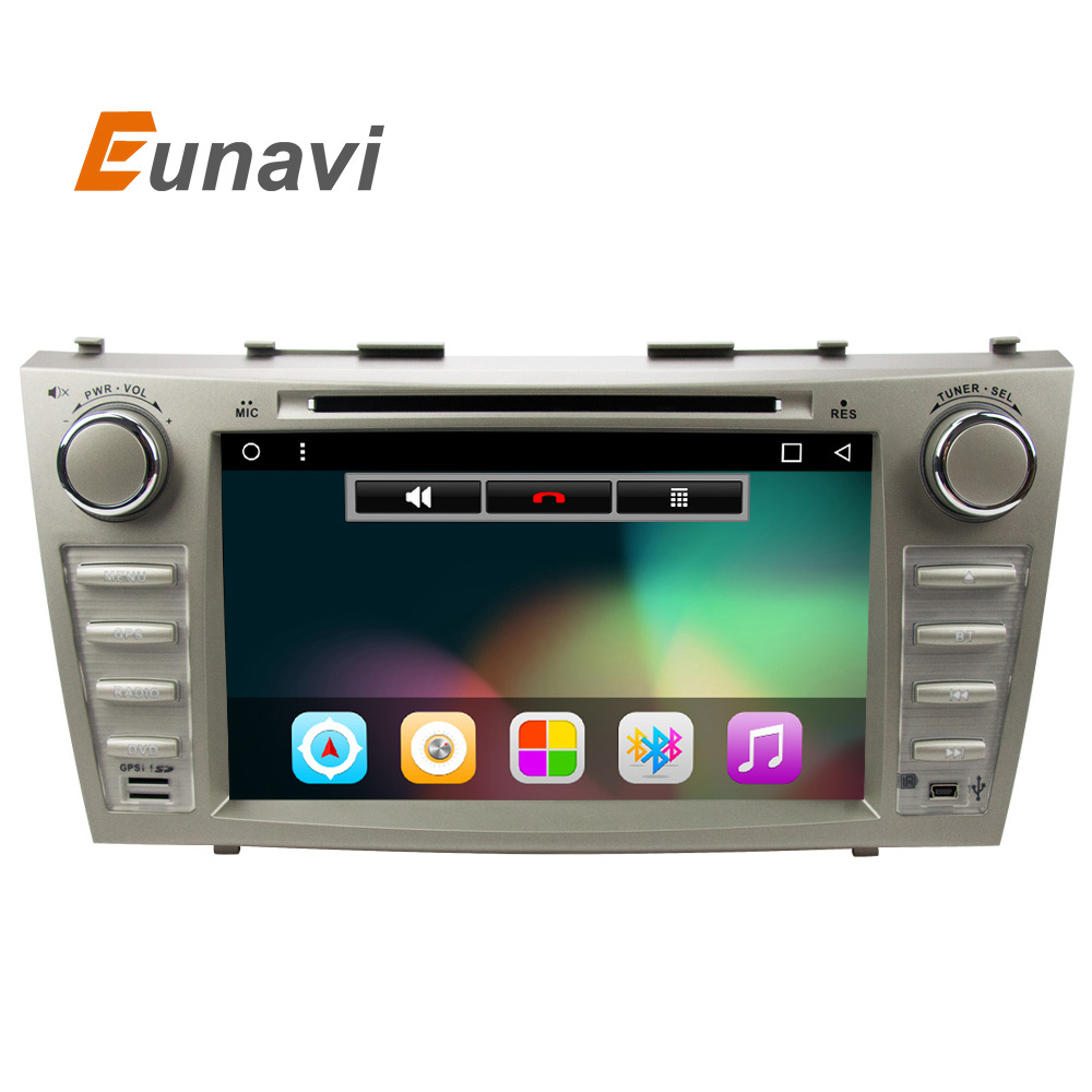 Eunavi 8 inch quad core 2 din Android 6 0 car DVD player car gps stereo