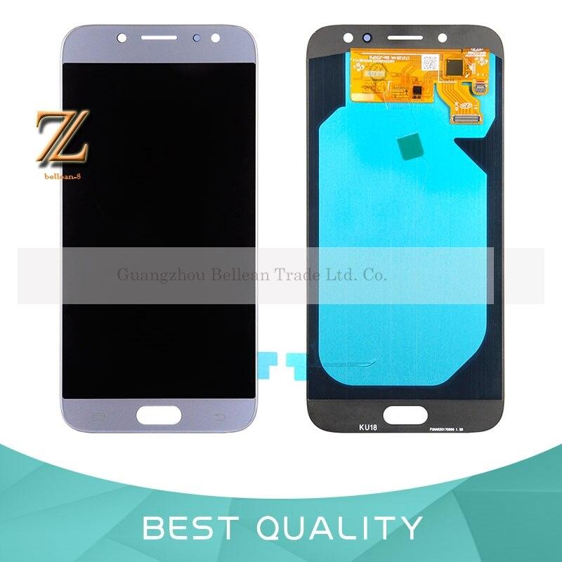 1 pcs OLED LCD Affichage Pour Samsung Galaxy J7 Pro 2017 J730 LCD Display + Écran Tactile Digitizer Assemblée Pour SAMSUNG J730 LCD