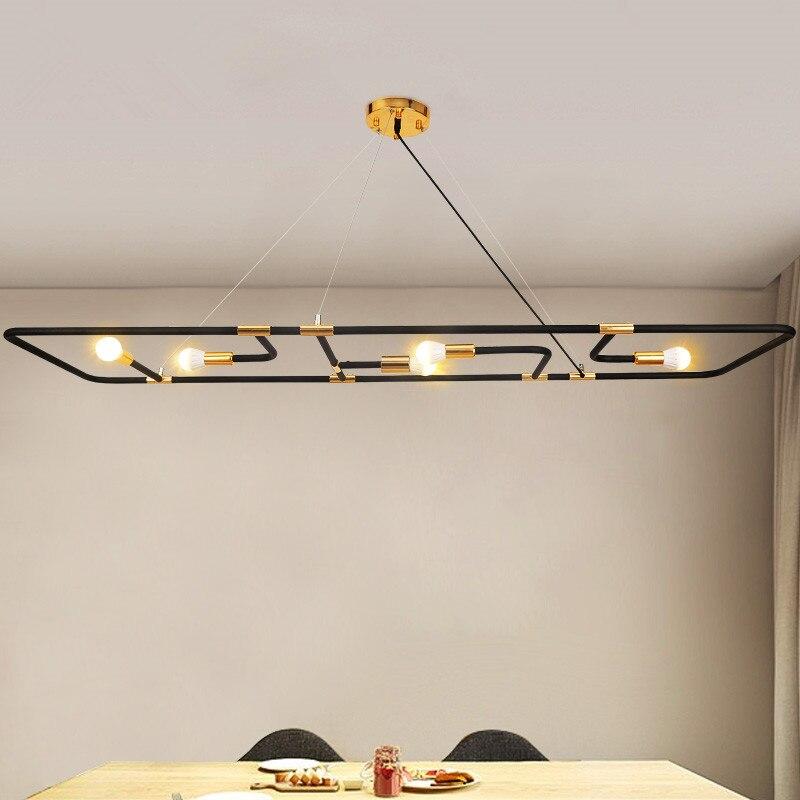 Post-modern simple chandelier Kitchen Lamparas De Techo Home Lighting For Dining Room 220V Suspension Luminaire Lights