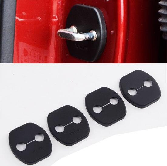 Набор для Nissan Qashqai Murano Koleos Altima Sentra Almera Juke, стикер на дверь, заглушка, защитный чехол - Цвет: door lock cover