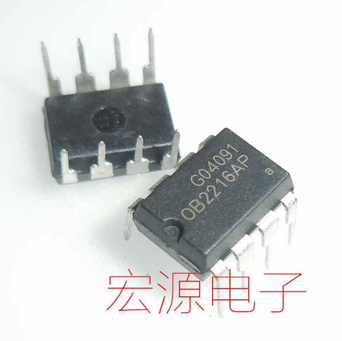 5pcs  OB2216AP   OB2216   LCD Power Chip DIP8