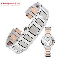 Laopijiangmale y para mujer pulsera de acero W6900356 W69010Z4 W6920034 medianas y pequeñas alternativa