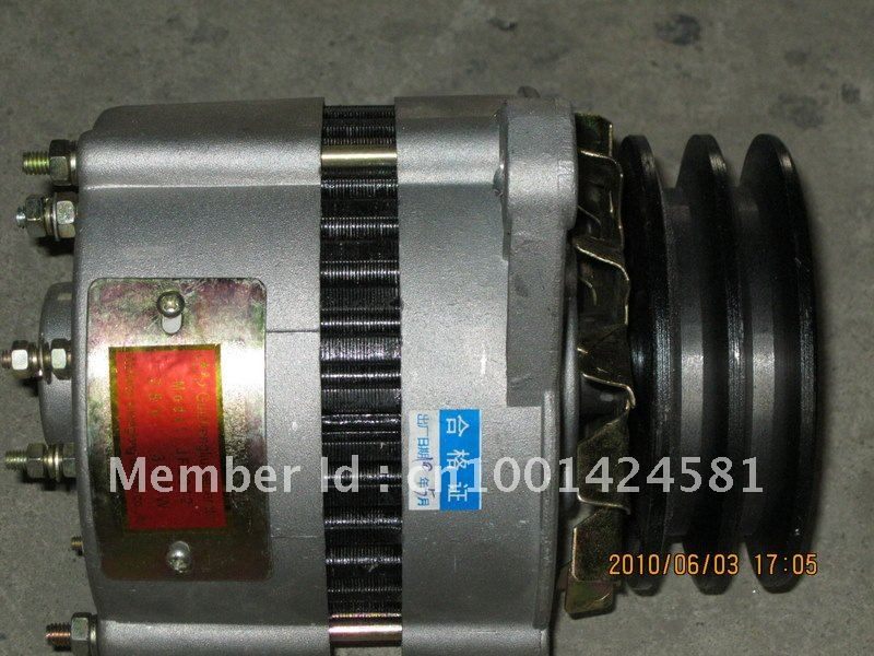 Weifang Ricardo K4100D K4100ZD 12V engine Alternator small generator for 15kw-40kw weifang Diesel Generator parts недорго, оригинальная цена