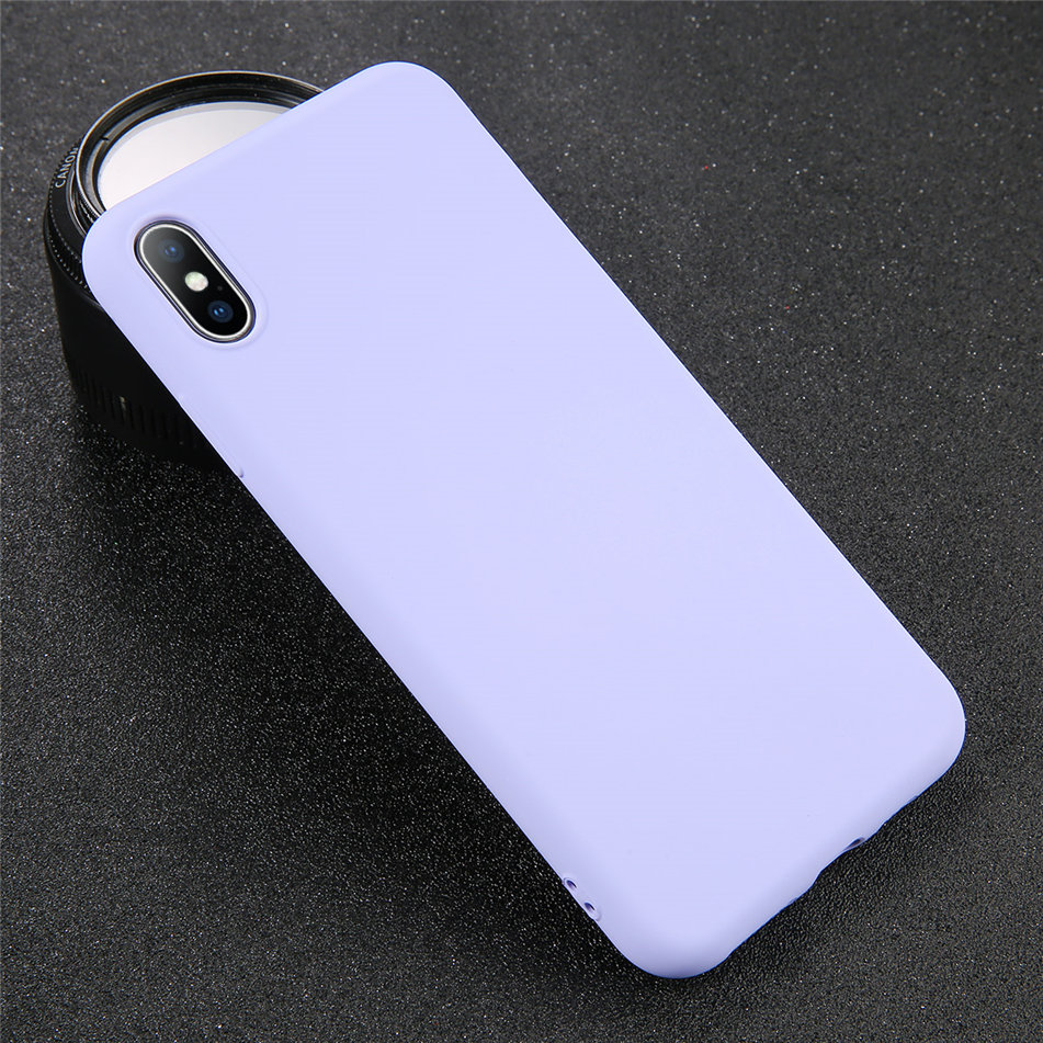 HTB1nihIXQ5E3KVjSZFCq6zuzXXab - USLION Silicone Solid Color Case for iPhone SE 2020 11 Pro MAX XR X XS Max Candy Phone Cases for iPhone 7 6 6S 8 Plus Soft Cover