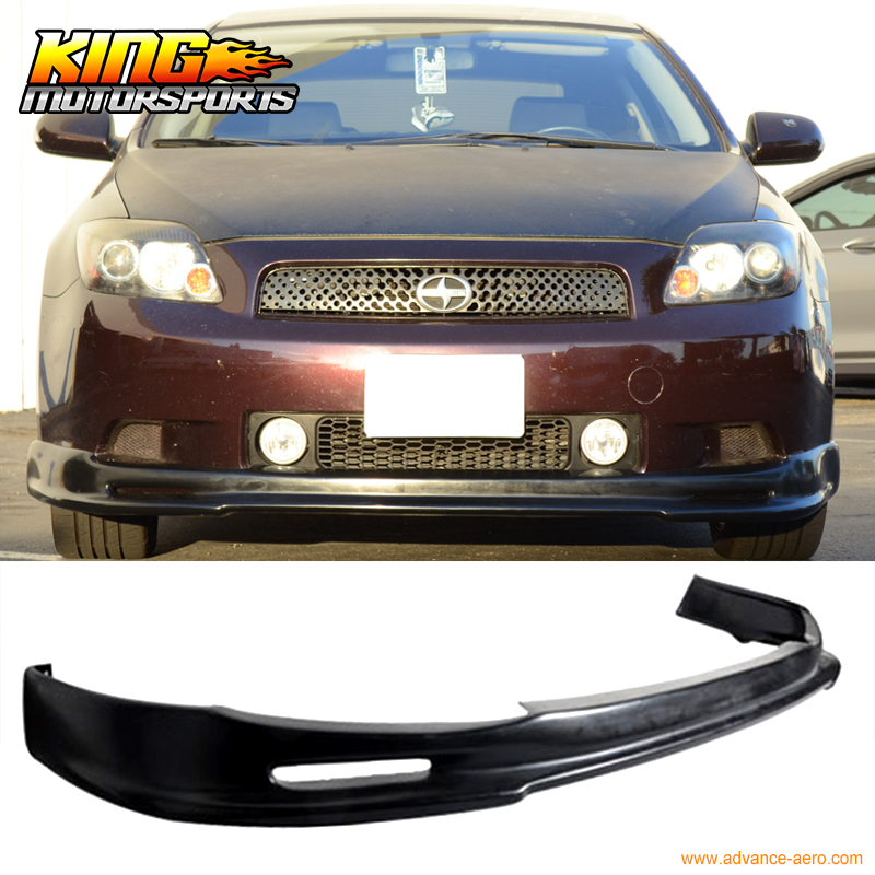FOR 04 05 06 07 08 09 10 SCION TC FRONT BUMPER LIP SPOILER BODY KIT PU MUGEN STYLE URETHANE цены