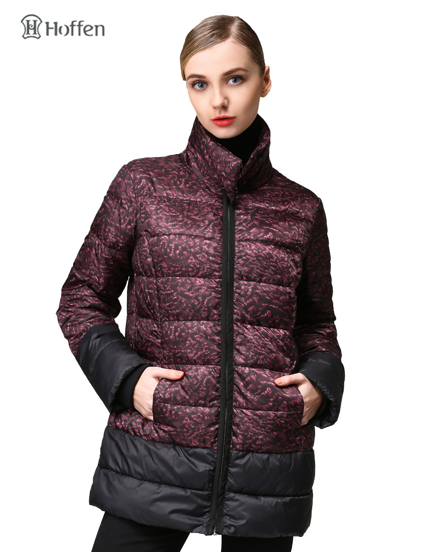 Hoffen New High Quality Womens Winter Parka Jacket Thick