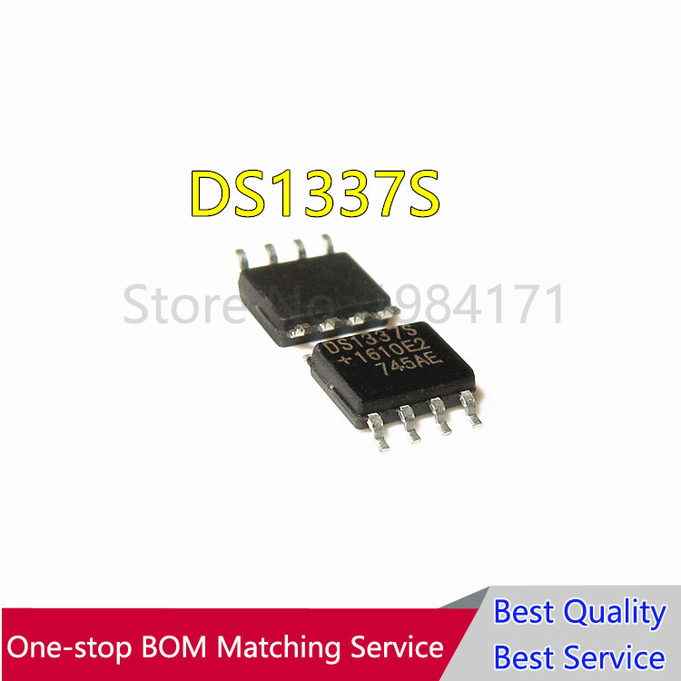 10 PCS DS1337S SMD  DS1337 1337 Serial Real-Time Clock NEW