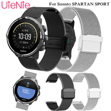 Milanese loop Stainless Steel Watch Band For Suunto SPARTAN SPORT Frontier/classic Strap For Suunto SPARTAN SPORT smart watch цена и фото
