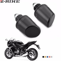 7 8 22mm Aluminum Adjustable Motorcycle Handle Hand Bar Ends Motorbike Handlebar Grips Ends For Kawasaki