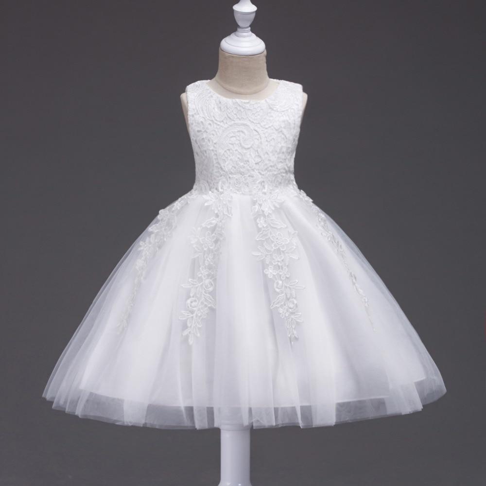 0-24 Μήνες Baby κορίτσια λευκό φόρεμα - Παιδικά ενδύματα - Φωτογραφία 1