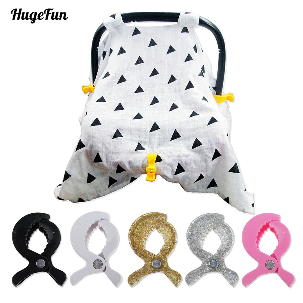 1pcs Baby Car Seat Accessories Stroller Clip Toy Lamp Pram Stroller Peg To Hook Cover Blanket Clips