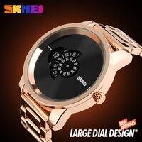 Quartz Watch Men S Creative Watches SKMEI Luxury Brand Large Dial Wrist Watch Mens Wristwatches Zegarki