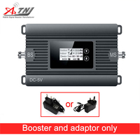 2G high gain mobile signal booster GSM 900mhz phone signal repeater 80dBi gain only amplifier and adapter