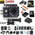 Full HD 1080 P DVR sj4000 Спорт Видеокамера Экстремальных Видов Спорта Шлем Действий Камеры Водонепроницаемая Цифровая DV Автомобильный Видеорегистратор