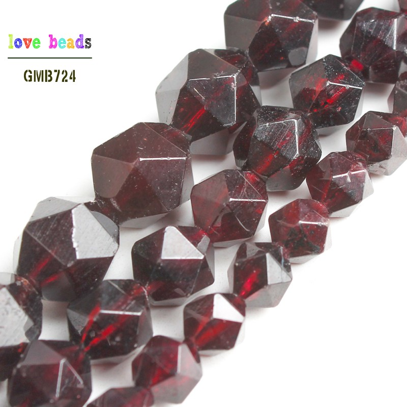 4mm 200 Count FACETED Translucent Ruby Beads USA Fishing Tackle