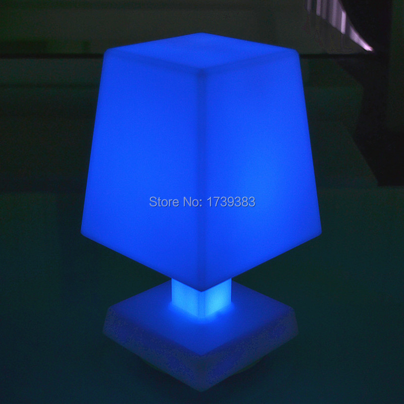 remote control cordless LED mood light table lamp Rechargeable (3)