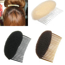 White/Black/Coffee Combs Women Fashion Women Hair Combs Ornaments Hair Bun Maker Braid DIY Tool Hair Accessories