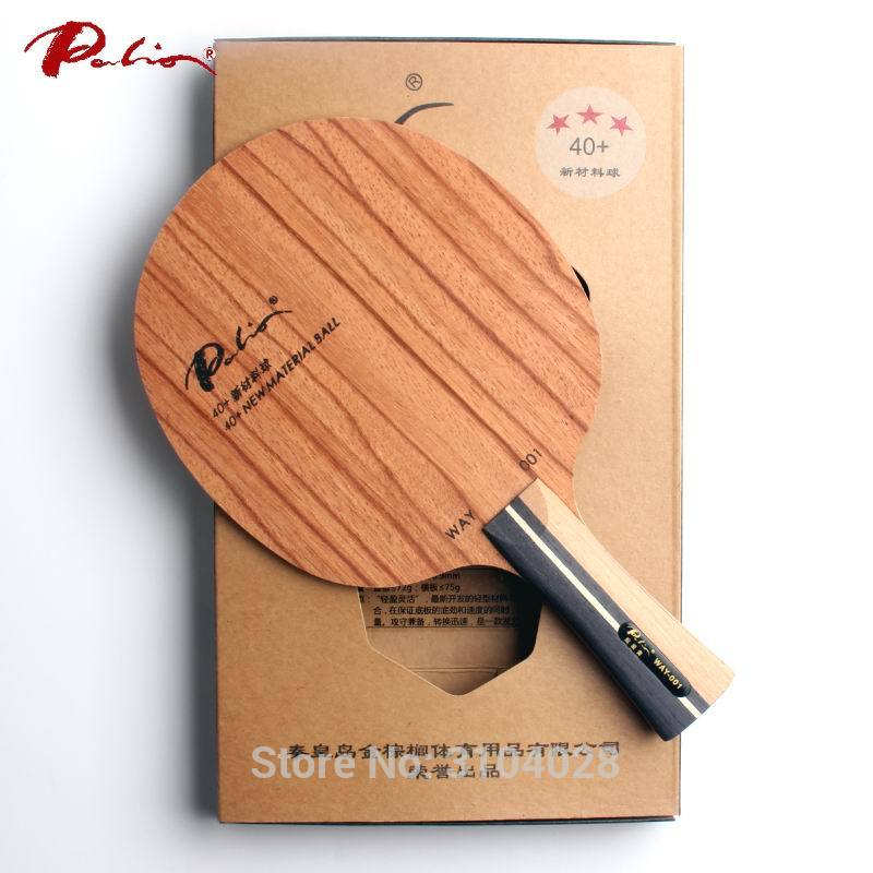 Palio Official Way001 Way 001 Table Tennis Blade Pure Wood For 40+ New Material Table Tennis Racket Sports Racquet Sports