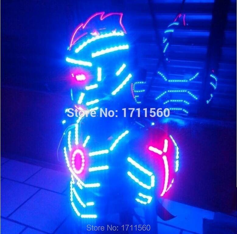 Costume de LED/vêtements de LED/costumes de lumière LED/costumes de Robot de LED/Costume de robot d'alexander