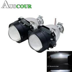 2,5 дюймов Биксенон hid объектив проектора, пригодный для H1 H4 H7 фары автомобиля фары лампы накаливания монтажный комплект бесплатная доставка ...