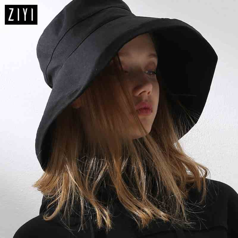 High Quality Colors Bucket Hats Women Bucket Cap Girls Sun protection cap Fishing cap Summer Sun beach hat #5089
