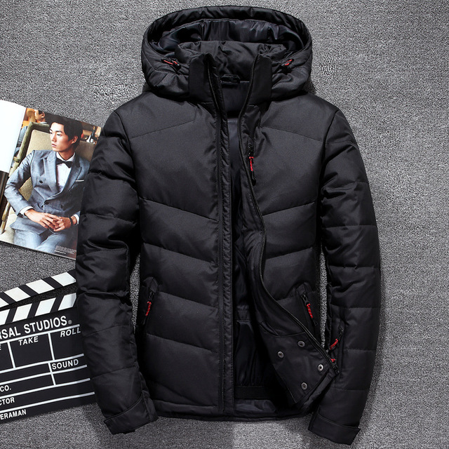 94e4be84050 Jaqueta Masculina Men Down Jacket Men Hooded Down Coat Casaco Masculino  Inverno Duck Down Winter Men Coat-in Down Jackets from Men's Clothing on ...