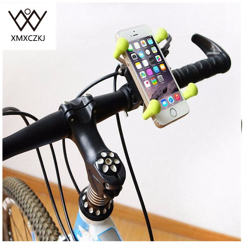 2 PCS Bicicleta Bicicleta Motocicleta Manillar Soporte para teléfono - Accesorios y repuestos para celulares - foto 5