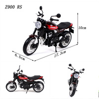 1:12 Scale Alloy KAWASAKI Z900 RS Motorcycle Motorbike Diecast Race Bikes Street Motor Toys Kids Children Toy Collection Display