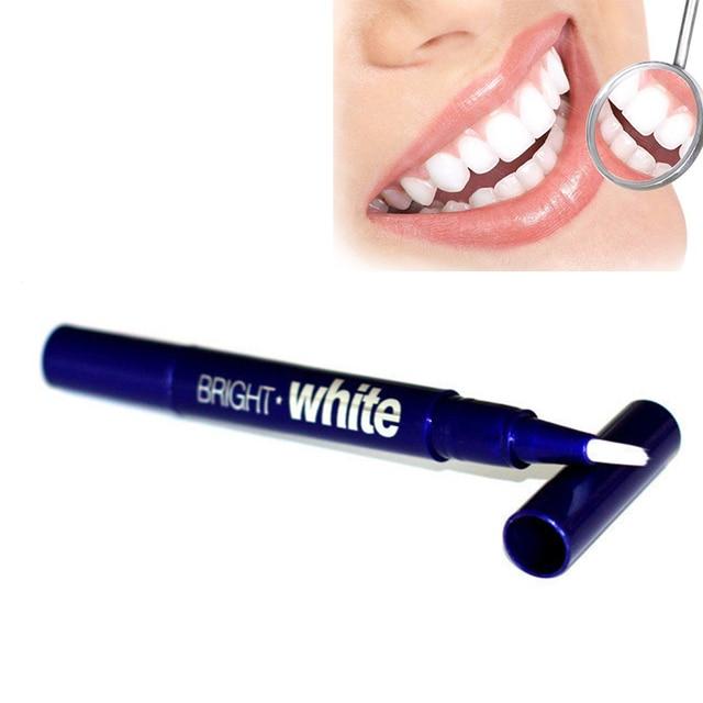 1 unidad de lápiz blanqueador de dientes blanco brillante 2,5 ml de Gel herramienta de blanqueamiento Dental/portátil una vez blanqueador de dientes tiras de TSLM2