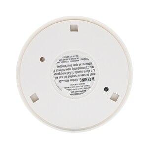 Image 5 - شحن مجاني! LCD CO الاستشعار العمل وحده المدمج في 85dB صفارة الإنذار الصوت مستقل أول أكسيد الكربون التسمم تحذير كشاف جهاز الإنذار