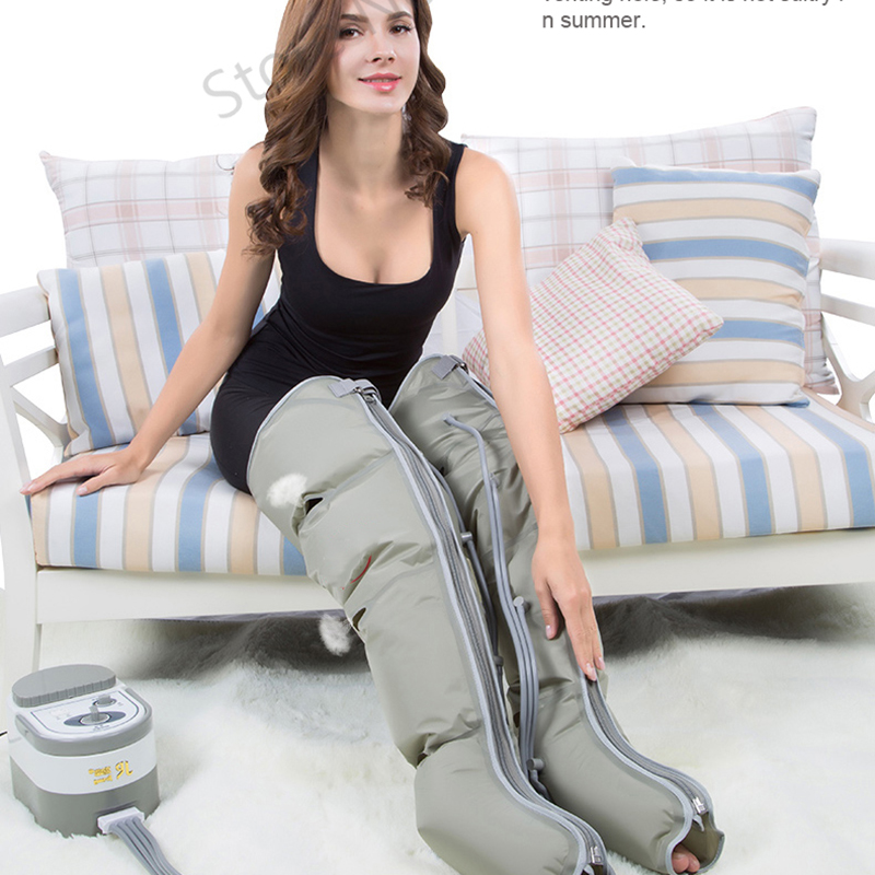Electric Air Circle Compression Massager Circulation Pressure Massage Leg arm Cuff elderly pneumatic air pressure wave