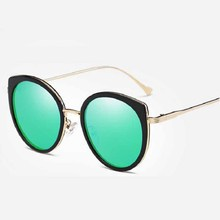 New Fashion Cat Eye Polarized Sunglasses For Women Trend Colorful Female Sunglasses Polarized Women Sunglasses Fashion glasses
