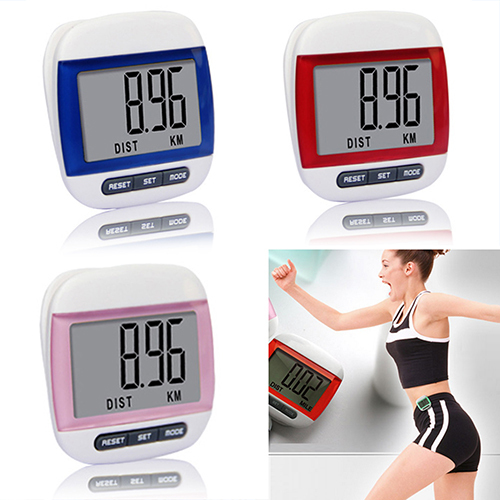 Mini Waterproof Step Movement Calories Counter Multi-Function Digital Pedometer  5UTW