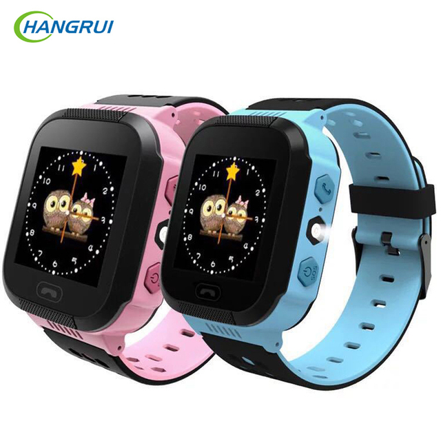 Hangrui Y21S Kids Smart Watch 1.44 inch SOS Call Location Tracker Camera Flashlight Baby Smartwatch PK Q50 Q90 Q528