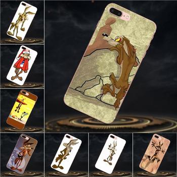 For Huawei Mate 7 8 9 10 20 P8 P9 P10 P20 P30 Lite Plus Pro 2017 Soft TPU Covers Cases Wile E Coyote image