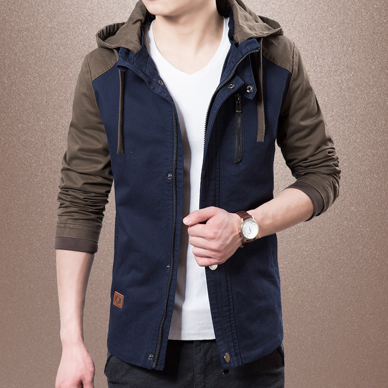 Kuezle 2018 Autumn Jacket Men Thick Windproof Hood Parka Mens Jackets And Coats Windbreaker Outdoorsport Coat Jaqueta Masculina ...