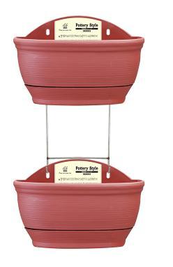 0007 двойное керамическое стильное Настенное подвесное кашпо горшок домашний Декор украшение сада автоматическое полив гидропоники горшки для растений - Цвет: yellow