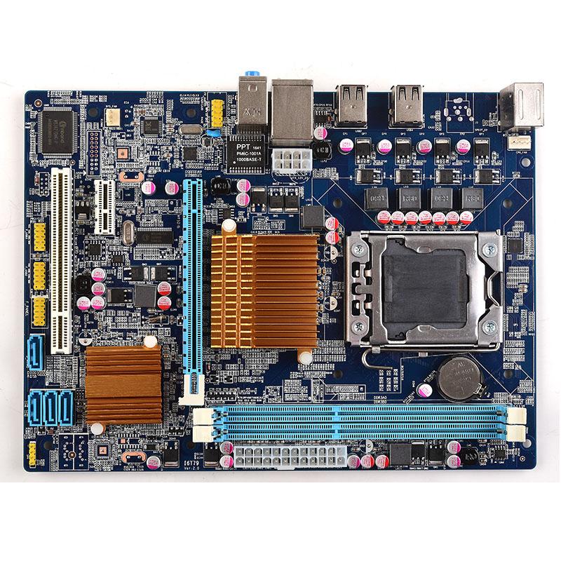 Prix pour Brand new Intel X58 LGA 1366 carte mère LGA1366 bureau mainboard micro-ATX DDR3 1066/1333/1600 double canal max 16G