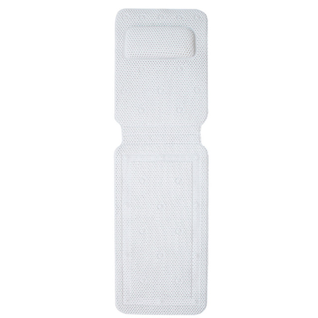 PVC Large Bathtub Non-Slip Anti-bacterial Antiskid Bathroom Bath Mats With Suction Cups Superior Grip For Bathing 36*125 cm