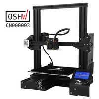 Kit de bricolaje de impresora 3D Ender-3 tamaño grande de impresión I3 mini Ender 3/Ender-3X impresora 3D Creality 3D impresora continuación impresión de