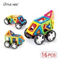 Wholesale Semi Circle 6pcs 12pcs 24pcs High Quality Magnetic Building Blocks Kids Toys