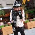 Fashion Winter Hat Scarf Cute Knit Crochet Beanies Cap Hats For Women Warm Scarf And Hat Knitted Hat 5 Colors 51