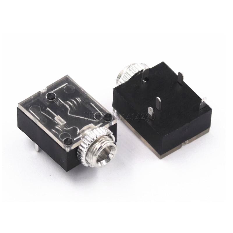 Stereo Headphone Audio Jack Socket 3.5mm