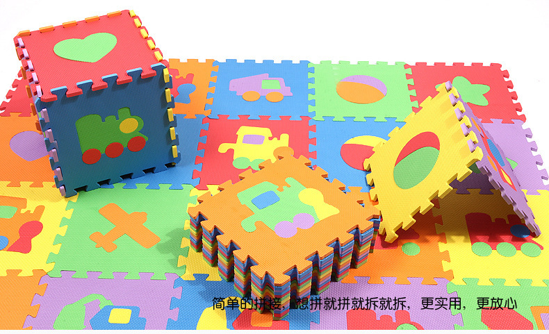 Cool Vehicles Baby Boys Eva Floor Pad Kids Piecing Crawling Foam Mat Rugs Children Room Ecofriendly Safe Items 30cm 10pcs In From Home Garden On