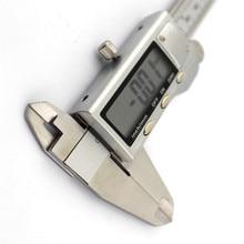 Cheaper 1pc J432 Stainless Hardened Digital Display VERNIER CAILPER 0-150mm Digital Caliper Measure Width Depth Tools High Accuracy