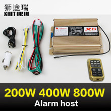 200W/400W/800W/600W/alarm host wireless remote control speaker high and low sound 18 sound ambulance p0lice car fire truck sound(China)